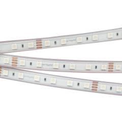 Светодиодная лента RTW 2-5000P 24V RGB 2x (5060, 300 LED, LUX) (ARL, 14.4 Вт/м, IP66)