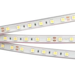 Светодиодная лента RTW 2-5000P 24V White6000 2x (5060, 300 LED, LUX) (ARL, 14.4 Вт/м, IP66)