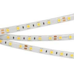 Светодиодная лента RTW 2-5000SE 24V Warm 2x (5060, 300 LED, LUX) (ARL, 14.4 Вт/м, IP65)