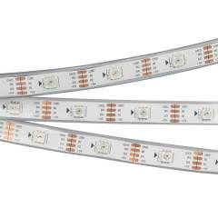 Светодиодная лента SPI-5000P-RAM 5V RGB (5060, 150 LED x1, 2813) (ARL, Закрытый, IP66)