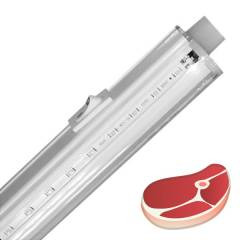 Светодиодный линейный светильник для мясных прилавков серии FL-LED T4 MEAT