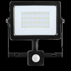 Светодиодный прожектор FL-LED Light-PAD SENSOR 20W Grey 4200К 1700Лм 20Вт 122x84x19мм  - С датчиком