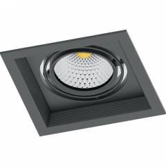Светодиодный светильник Feron AL201 карданный 1x20W 4000K 35 градусов, черный