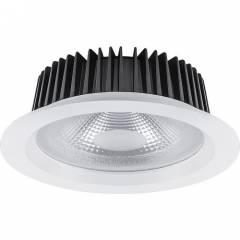Светодиодный светильник Feron AL251 встраиваемый 40W 4000K, 240x240x95 мм белый