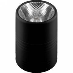 Светодиодный светильник Feron AL518 накладной 10W 4000K белый/черный/хром