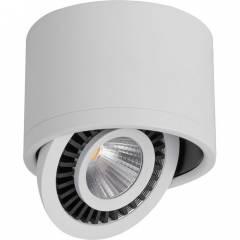 Светодиодный светильник Feron AL523 накладной 10W 4000K поворотный белый/черный