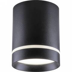 Светодиодный светильник Feron AL534 накладной 15W 4000K  80x100 черный