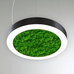 Светодиодный светильник Кольцо со мхом MOSS-RING-1950x100x80