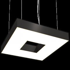 Светодиодный светильник Квадрат с отверстием RVE220322