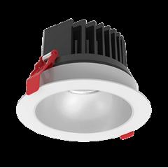 """Светодиодный светильник """"ВАРТОН"""" DL-SPARK встраиваемый 25W 60° 150x105mm белый с матовым серебристым рефлектором"""