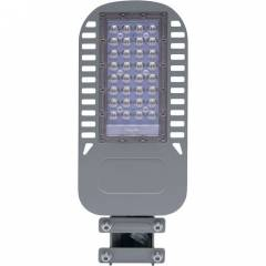 Светодиодный уличный консольный светильник Feron SP3050 50W 4000-5000K 230V, серый