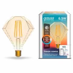Умная лампа Filament Бриллиант CCT+DIM 6,5 Вт 720 лм с функцией изменения яркости и оттенка света