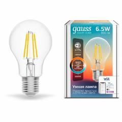 Умная лампа Filament CCT+DIM 6,5 Вт 806 лм с функцией изменения яркости и оттенка света