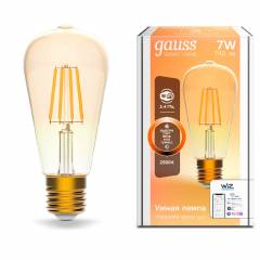 Умная лампа Filament ST64 DIM 7 Вт 740 лм