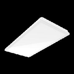 """Светодиодный светильник """"ВАРТОН"""" тип кромки Vector (Prelude 24) 1194*594*57 мм c равномерной засветкой"""