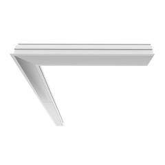 Светильник Universal-Line встр. L-поворот 610*635*69мм IP40 левый