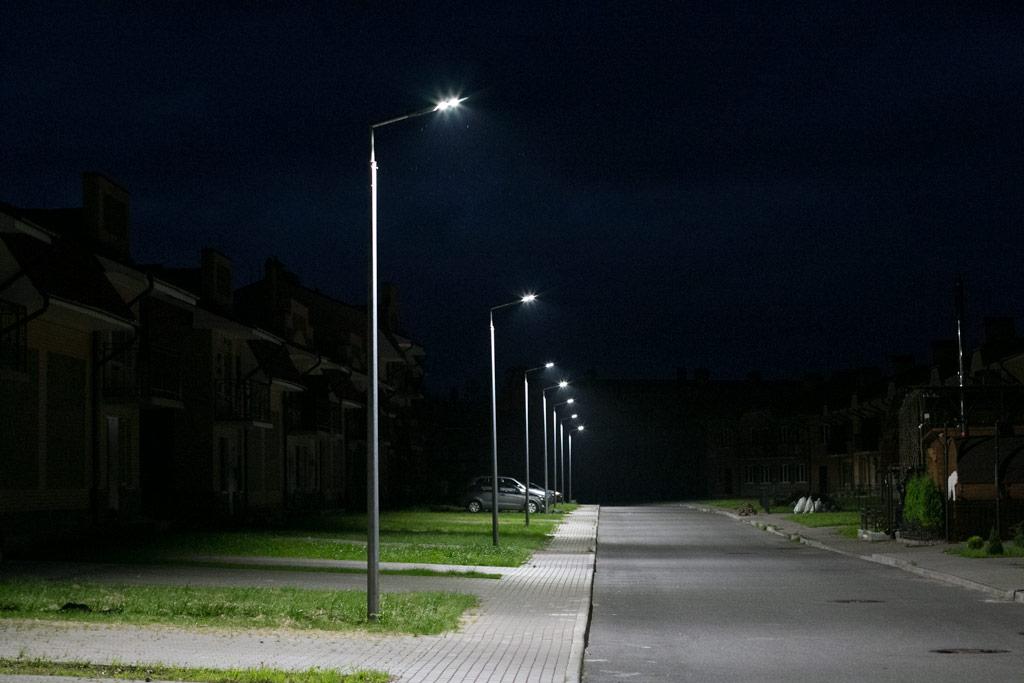 светодиодные консольные фонари
